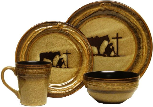 Praying cowboy dinnerware  sc 1 st  Pinterest & Praying cowboy dinnerware | For the Home | Pinterest | Dinnerware ...