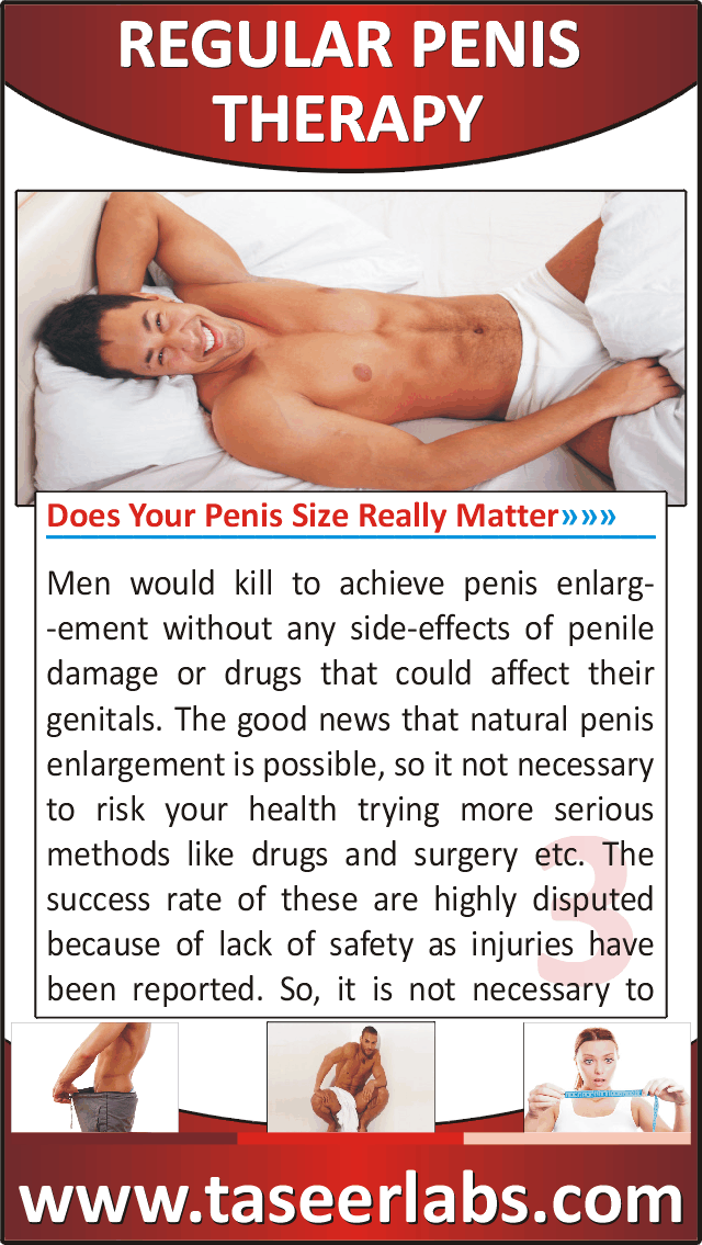To Get More Penis Girth
