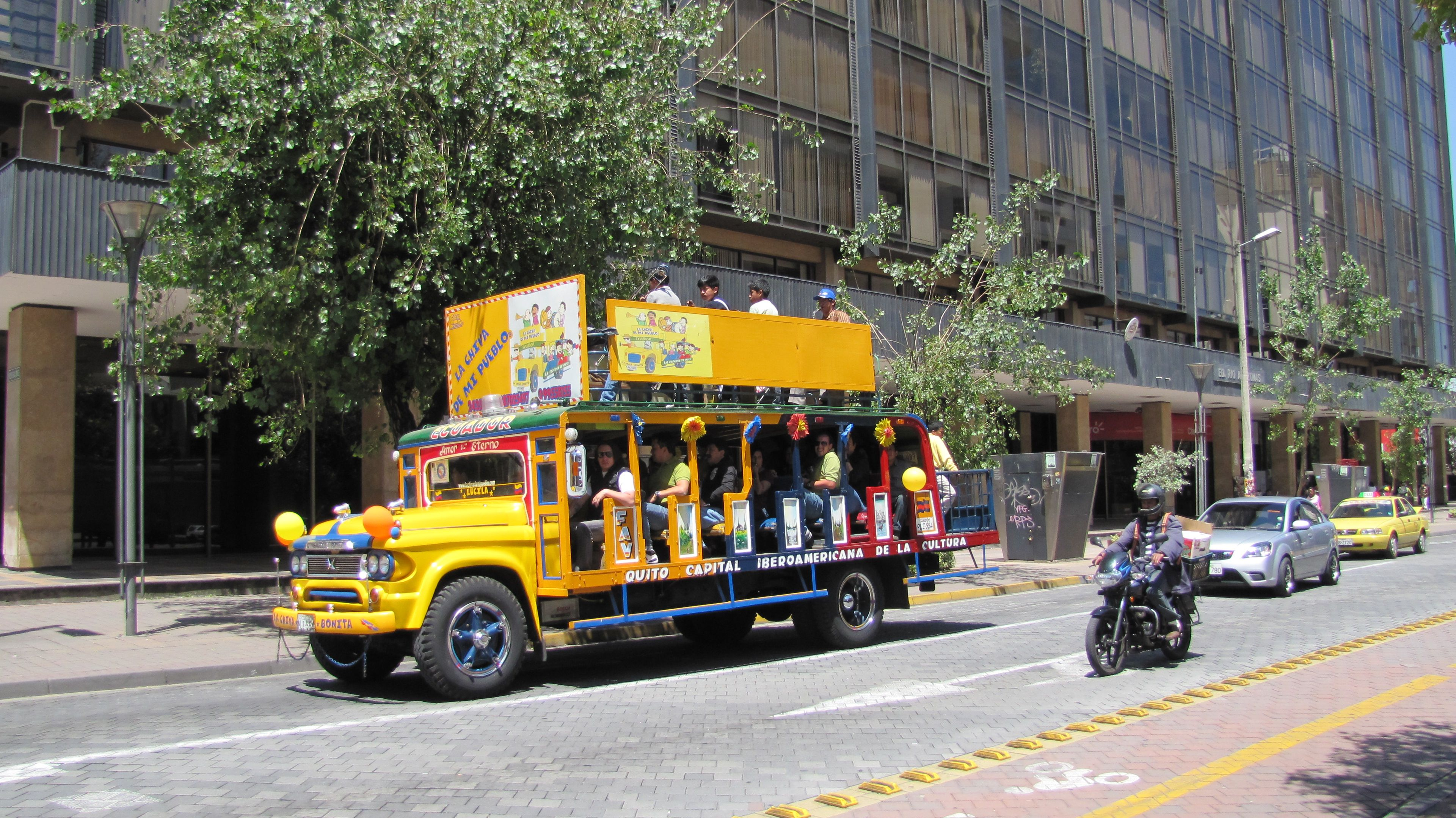 Mariscal district, Quito
