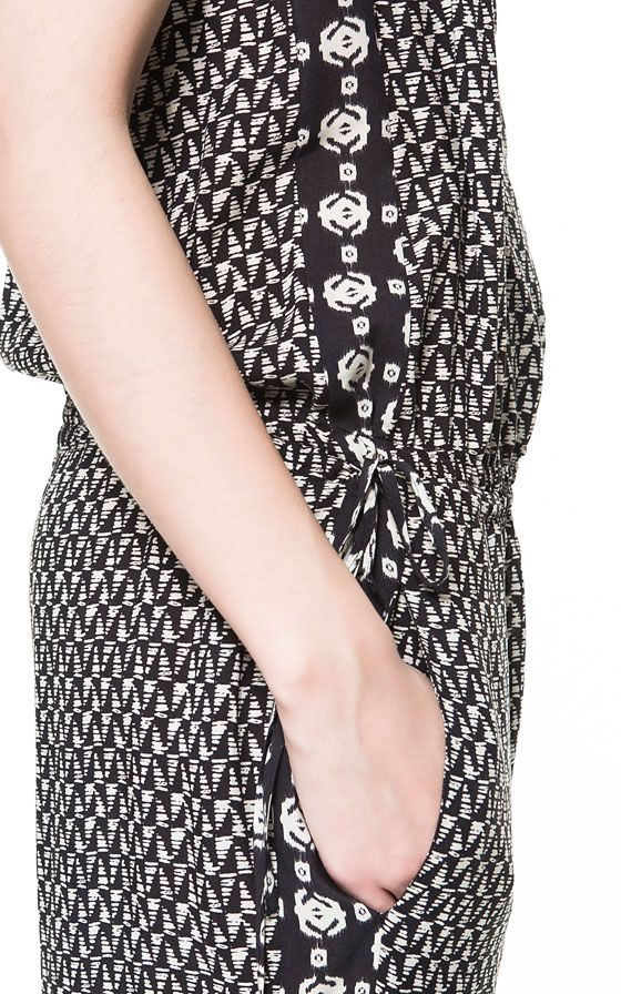 Image 4 of PRINTED JUMPSUIT from Zara