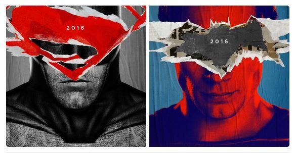 """Les premières affiches de """"Batman v Superman"""" > http://bit.ly/1DsvZcy"""