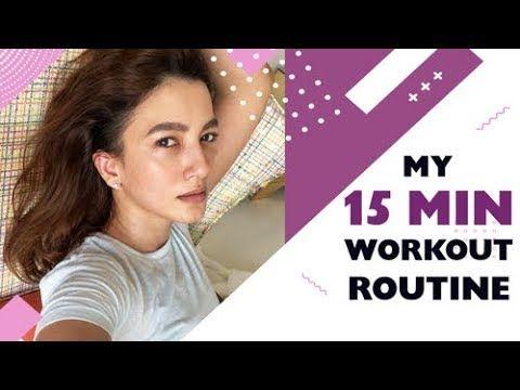 My 15 mins Workout Routine   Full Body Workout   Gauahar Khan