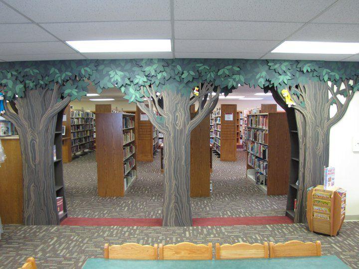Children S Room Entrance Childrens Library Kids Library