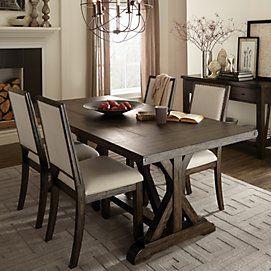 Carson Forge 5 Piece Dining Suite With Rectangular Table Sears Canada Furniture