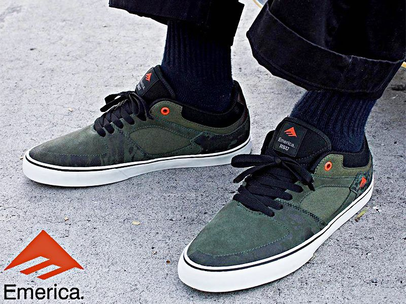 ea400042 The Hsu Low Vulc is a low profile shoe with a drop in G6 foot bed ...