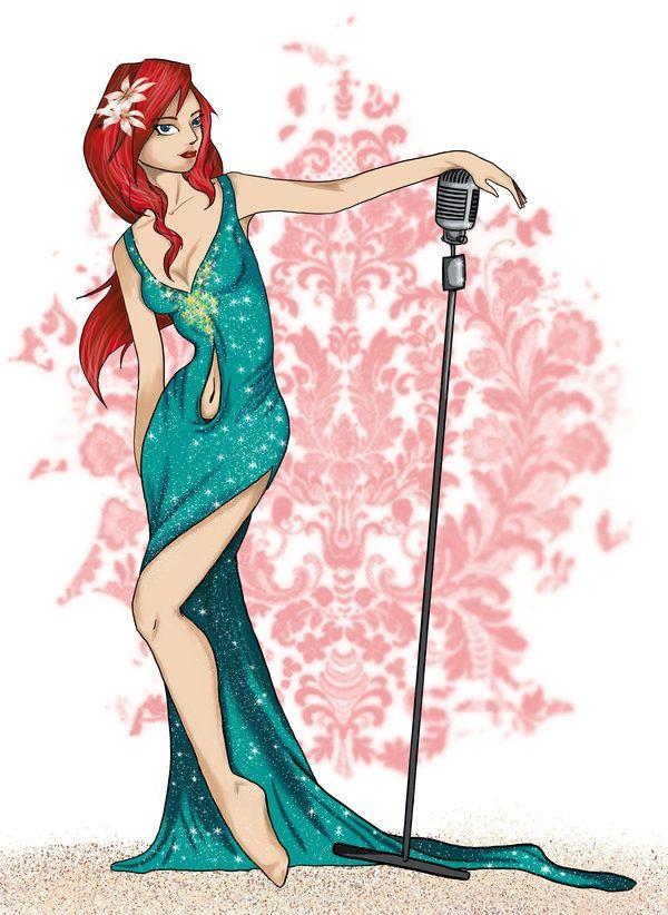 Modern Disney Princess - Ariel by ~Milojade on deviantART