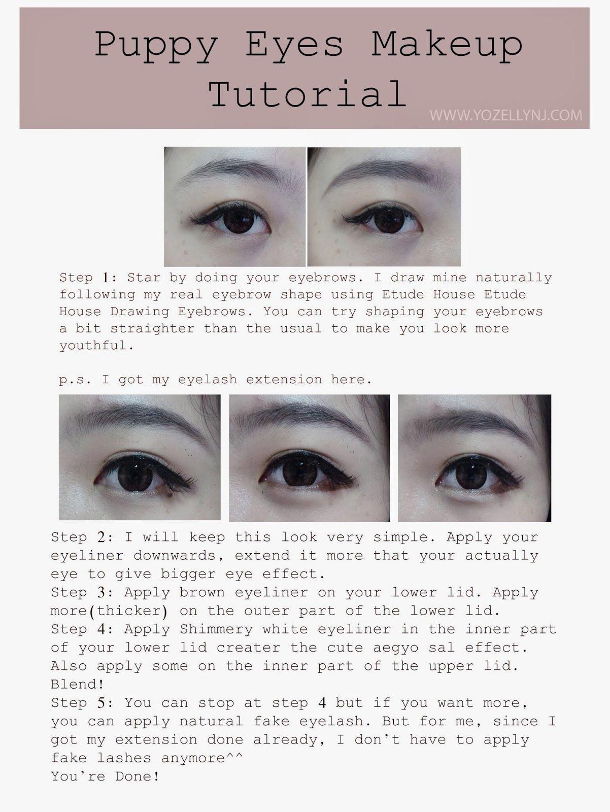 Puppy Eye Makeup Tutorial Makeupview