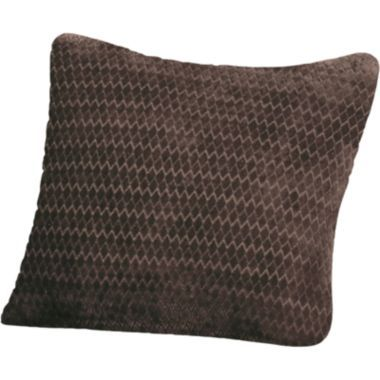 Jcp Royal Diamond Decorative Pillow Chocolate For The Home Awesome Jcp Decorative Pillows