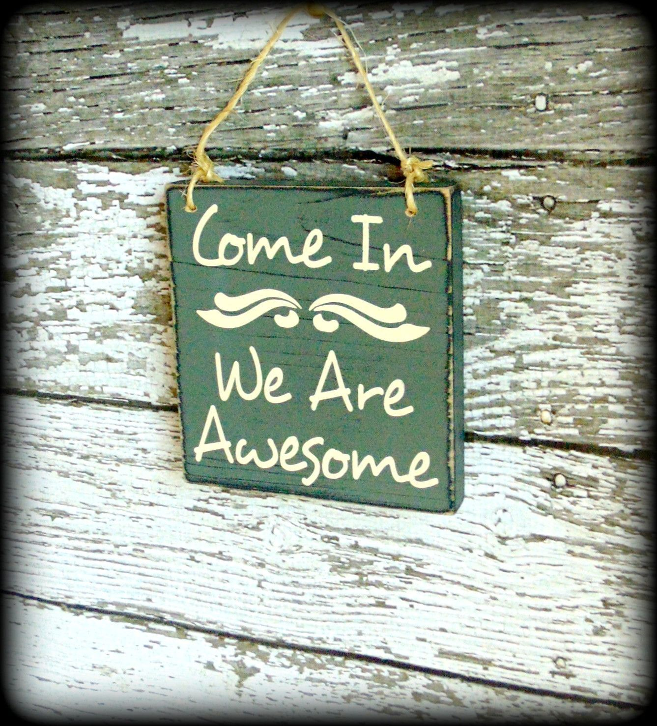 Welcome Sign Decor Custom Housewarming Gift Rustic Welcome Sign Front Door Decor Decorating Inspiration