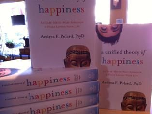 """a Unified theory of Happiness~book-$24.95  A great gift for yourself or those you care about. To assist in """"fully loving your life!""""  Several references from many theologies, perspectives and cultures."""