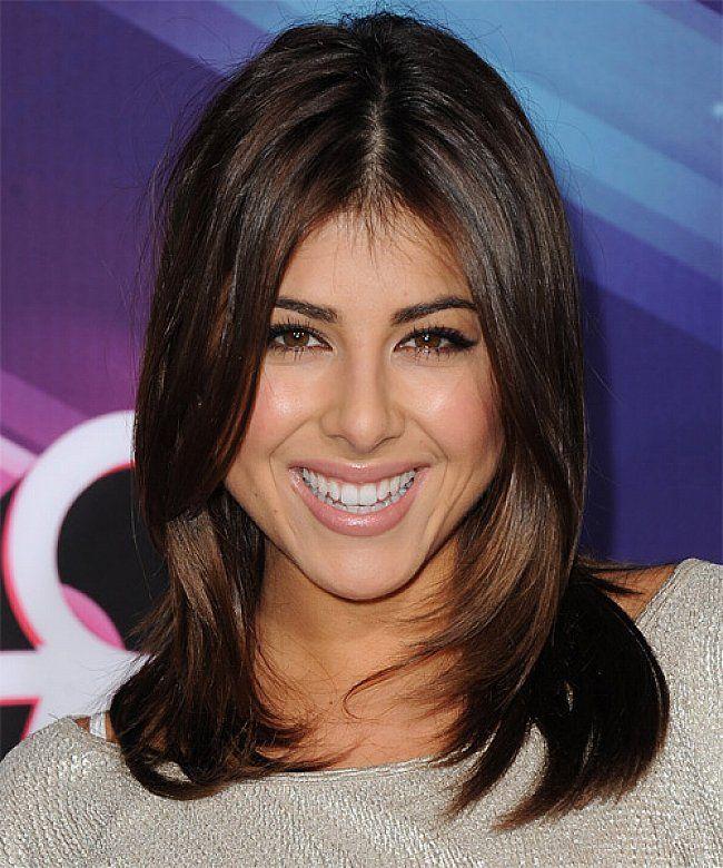 Easy medium length brunette hairstyles with layered hair - Women ...