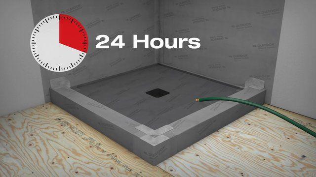 Usg Durock Shower System Shower Systems Shower Walk In Shower
