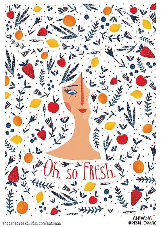 Antoana Oreski Illustration & Design   PATTERN