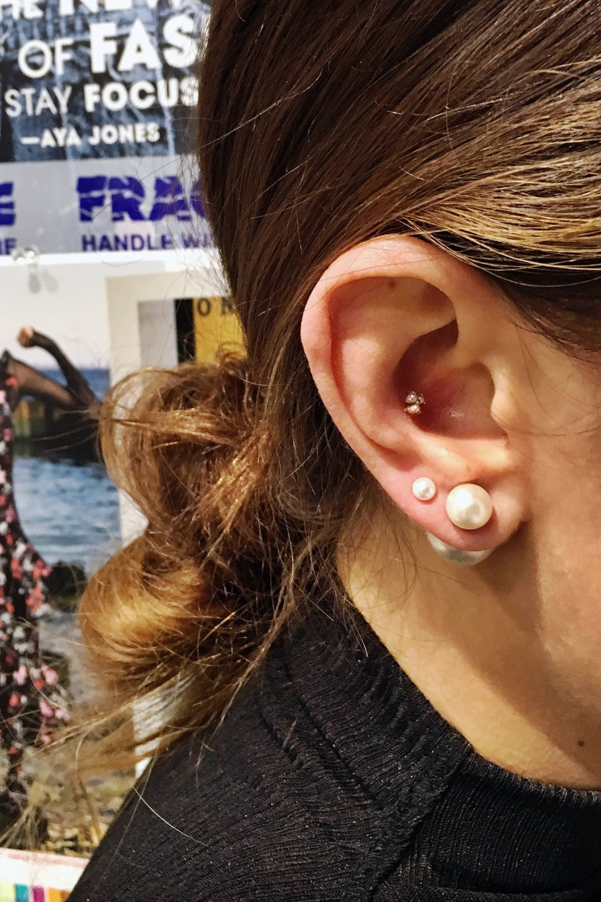 Nose piercing over 50  Everything You Need to Know About Piercing Your Ears  Piercing Ear