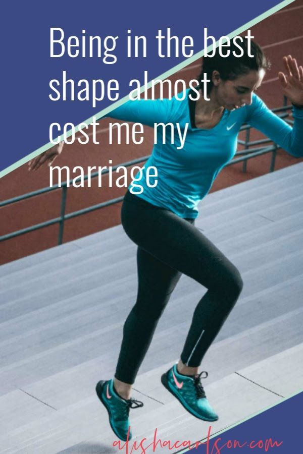 My obsession to be what I thought was the best version of me almost cost me my marriage. As I became...