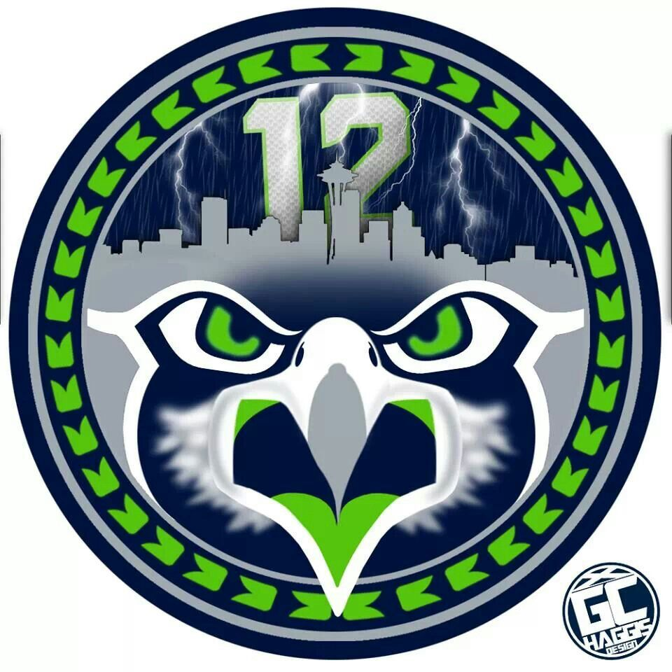 Seattle seahawks 12th man vinyl decal free print free shipping seahawks city outline 12 biocorpaavc Image collections