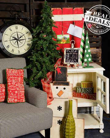 Christmas home decor by Real Deals on Home Decor All things Real - christmas home decor