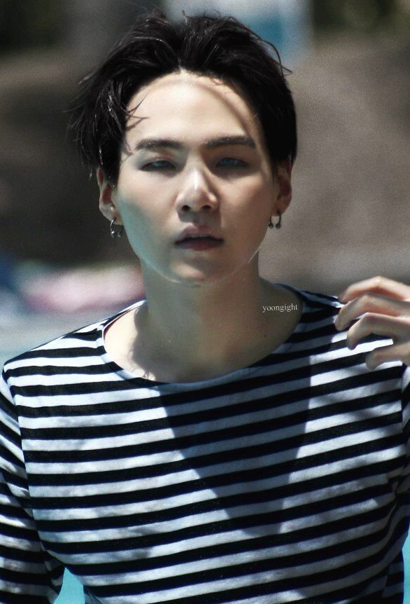 That Moment When You Realize You Can See Yoongi S Forehead