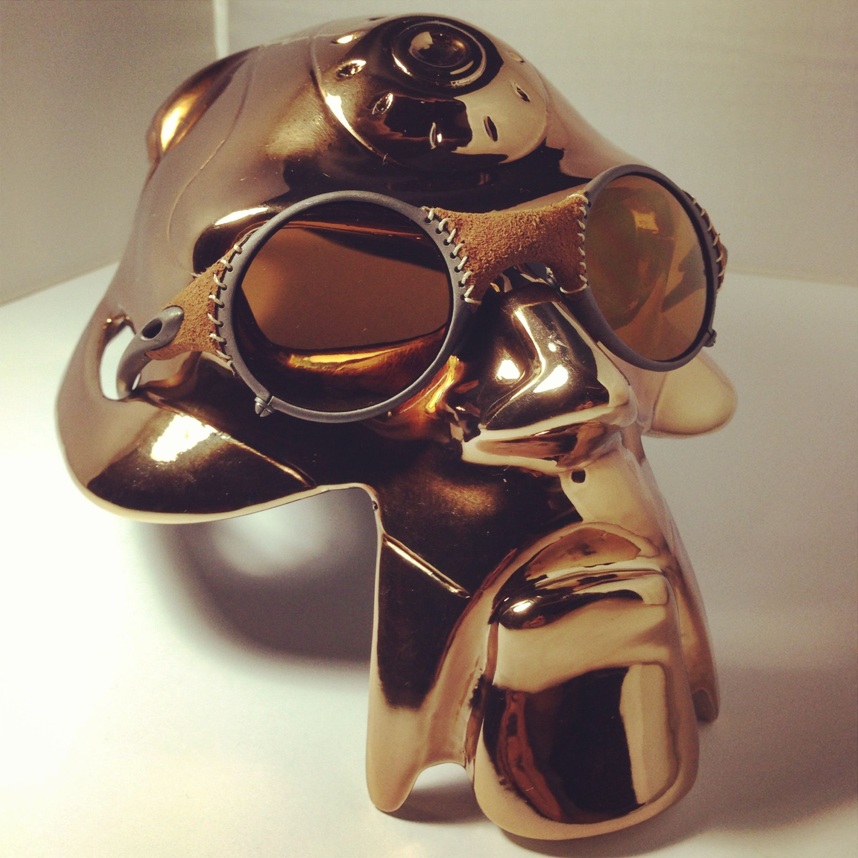 Oakley Limited Edition Michael Jordan Mars Leather Wrapped w  Gold Iridium 3918298b98