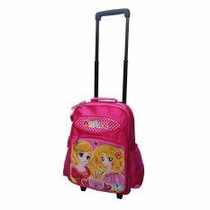 https://www.i-sabuy.com/ Onebagshop กระเป๋าเป้ล้อลากเด็ก รุ่นK386 ขนาด 14 นิ้ว PINK