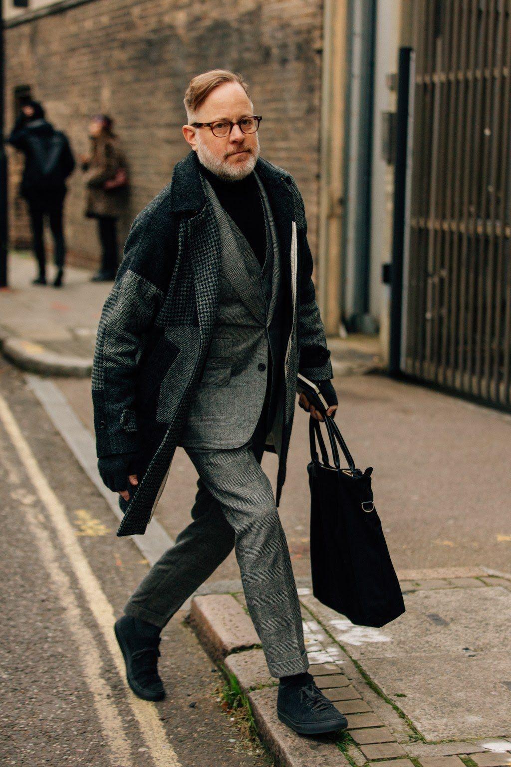 411b5823413a Street Style London Fashion Week Menswear Fall Winter 2018 – 2019 ...