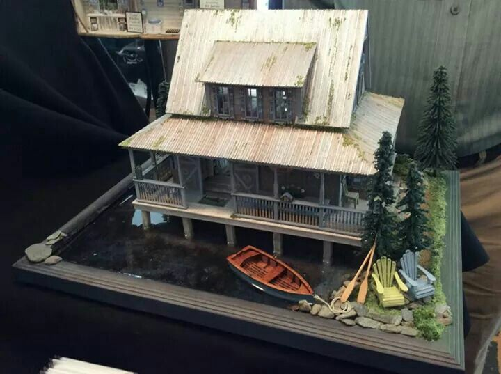 pickett pond unknown maker - Mini House Maker