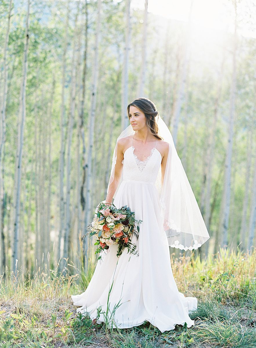 Colorado Bride On Film Allie S Cabin In Aspen Colorado Fine