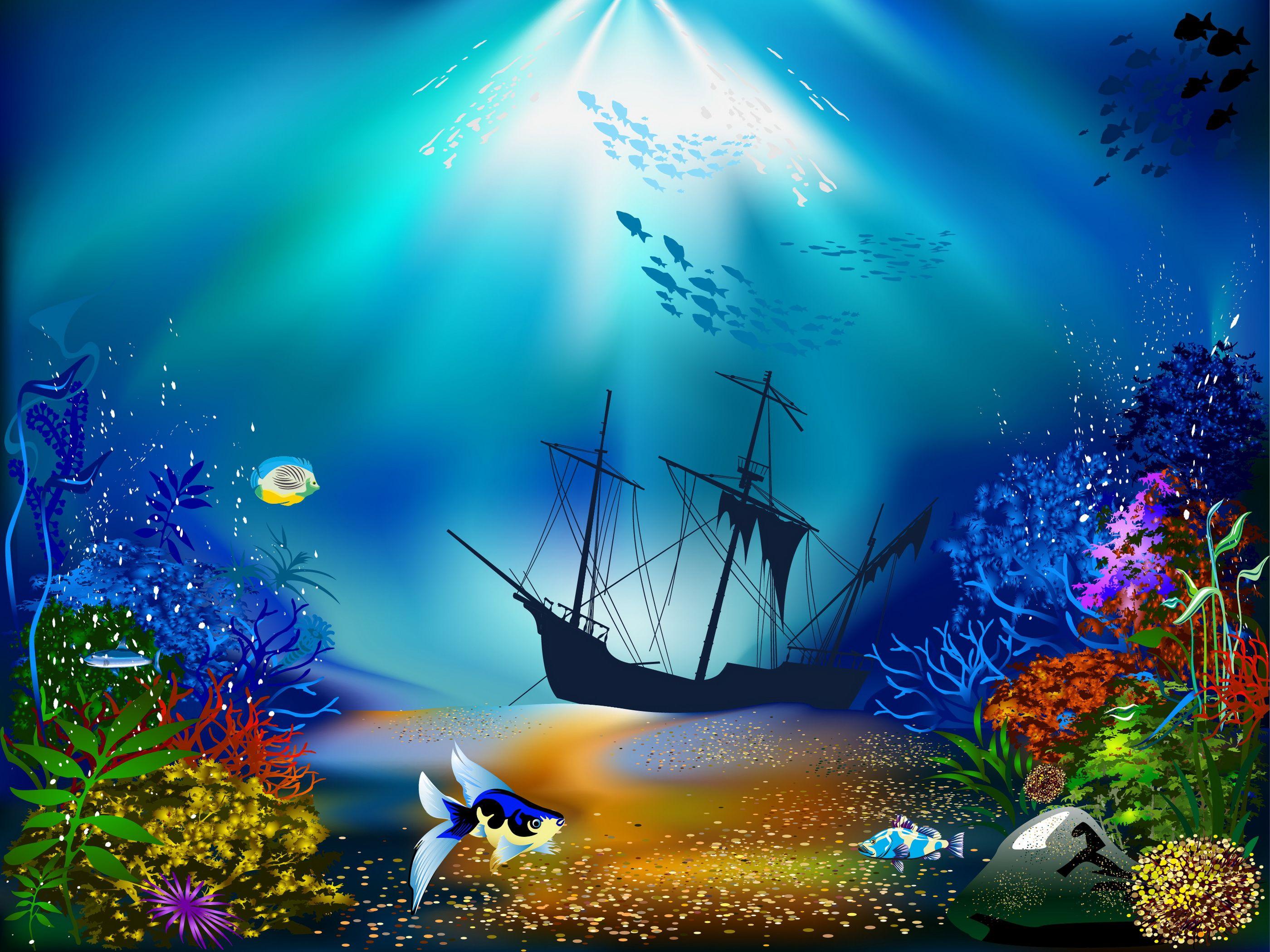 A Neve Design Star Decoração Background Arte subaquática