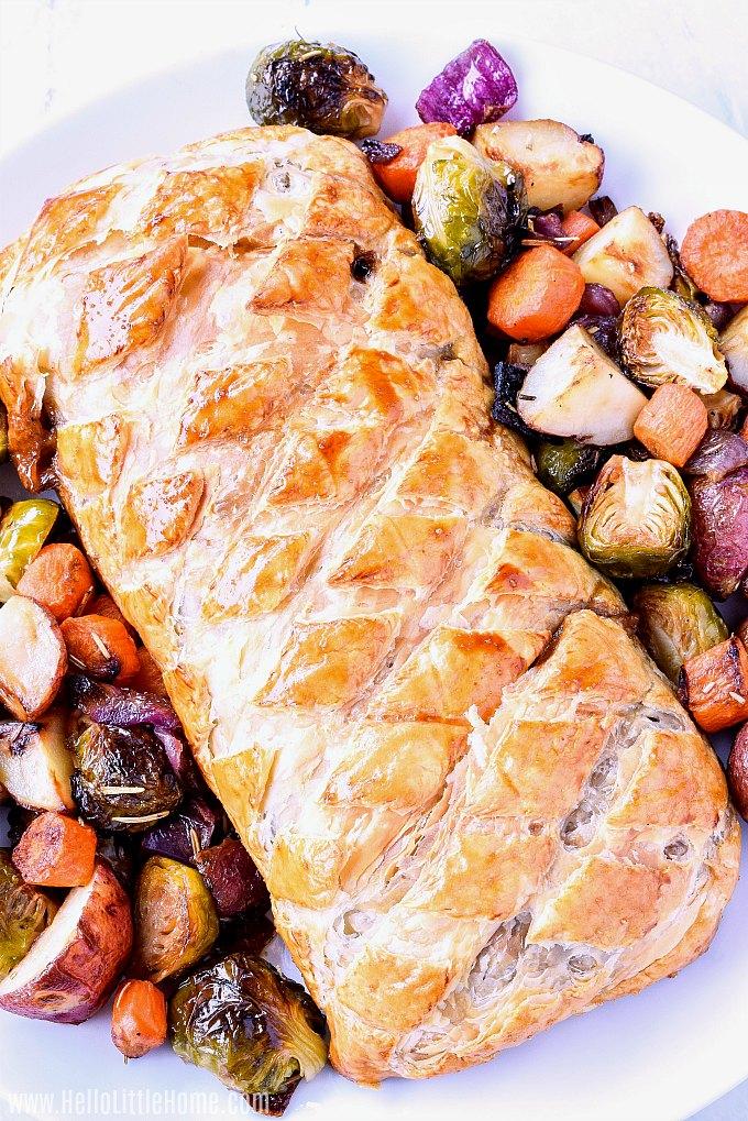 Mushroom Wellington Recipe (With images) Vegetarian