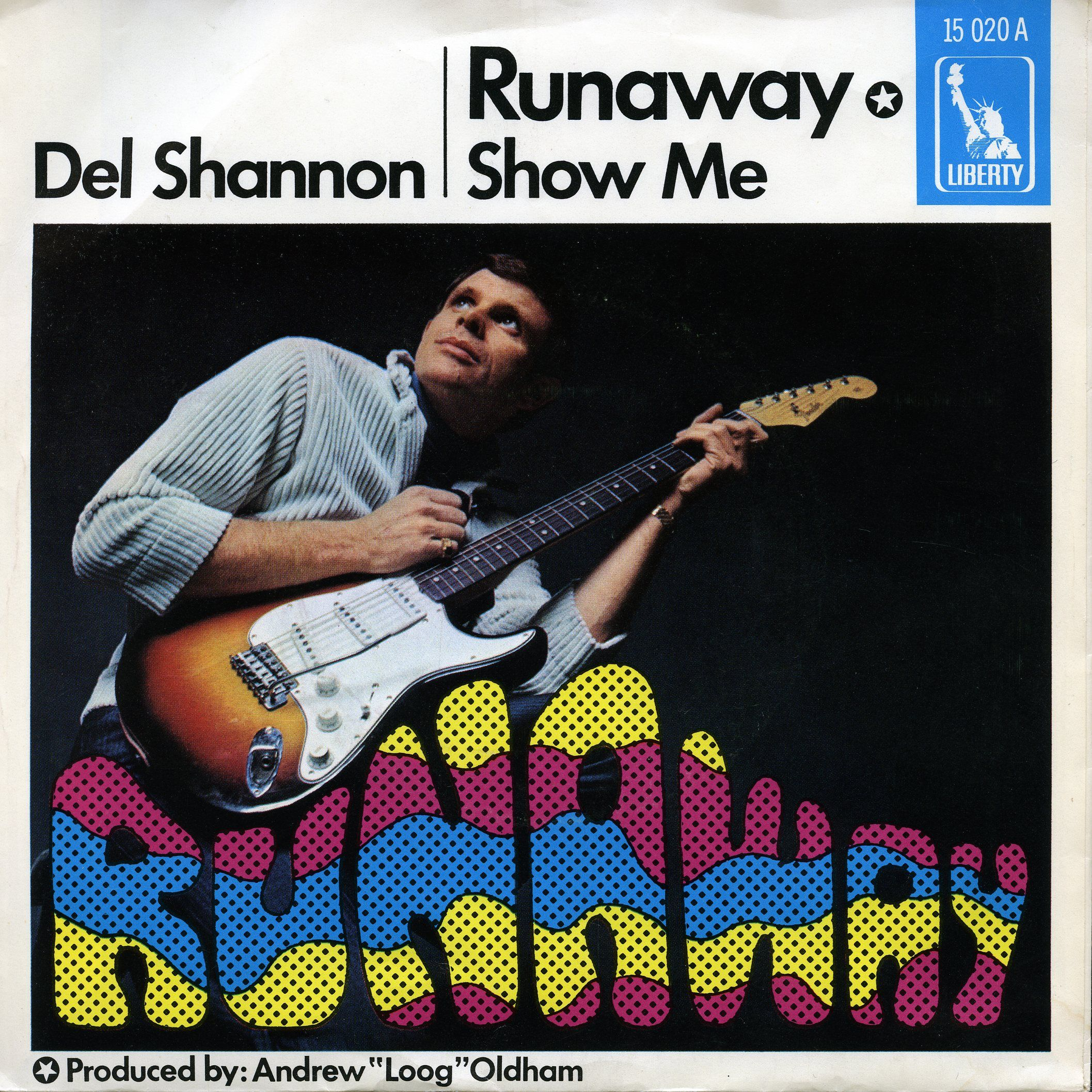 Del Shannon Runaway 1967 Germany Classic Album Covers Vinyl Records Covers Vinyl Poster