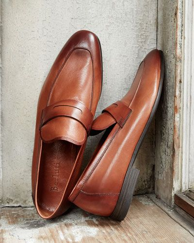 4e11cf14ec2 Berluti Lorenzo Unlined Leather Loafer