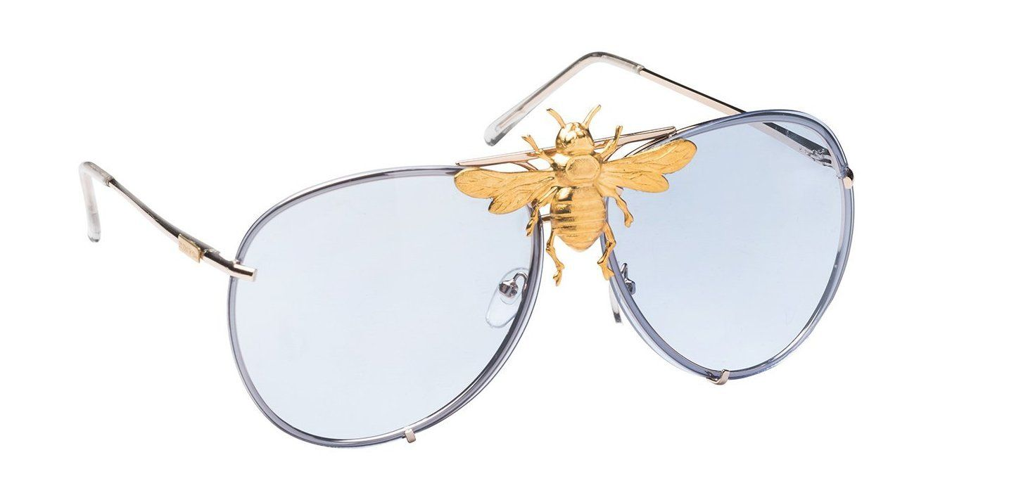 I ll Be Rich Forever Bee Sunglasses  Primary Edition   Aviator bee ... 5fbb28ea25ea