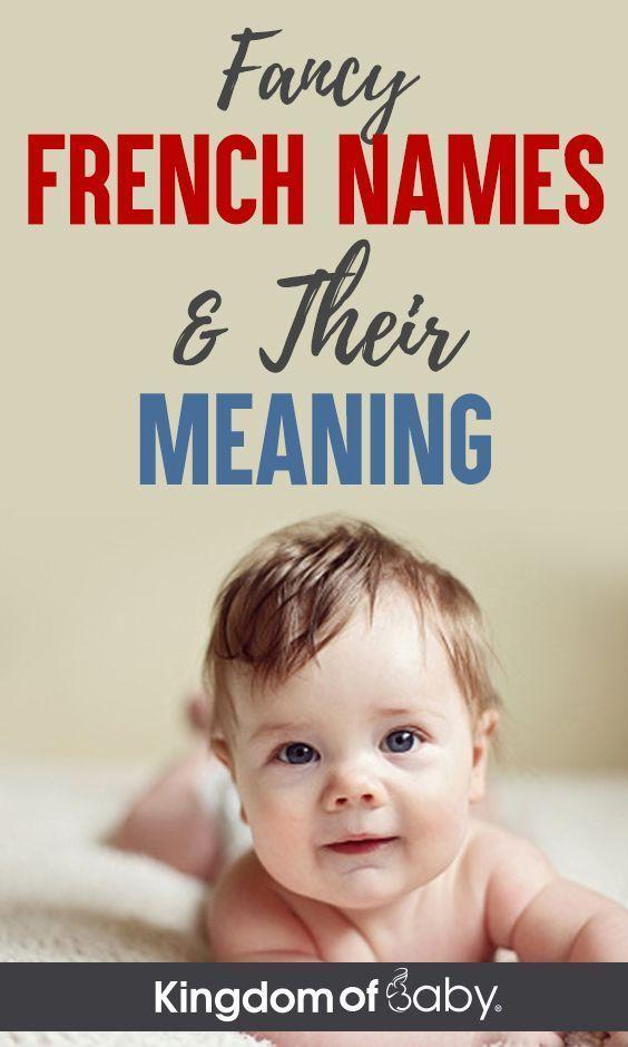 Ausgefallene französische Namen und ihre Bedeutung, #ausgefallene #babyboynames...