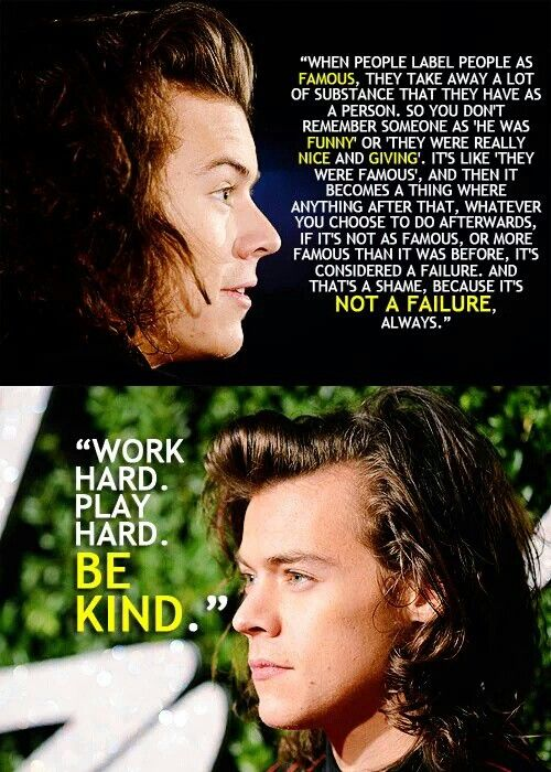 Harry Styles Quotes Harry Styles Quotes Harry Styles Facts One Direction Quotes