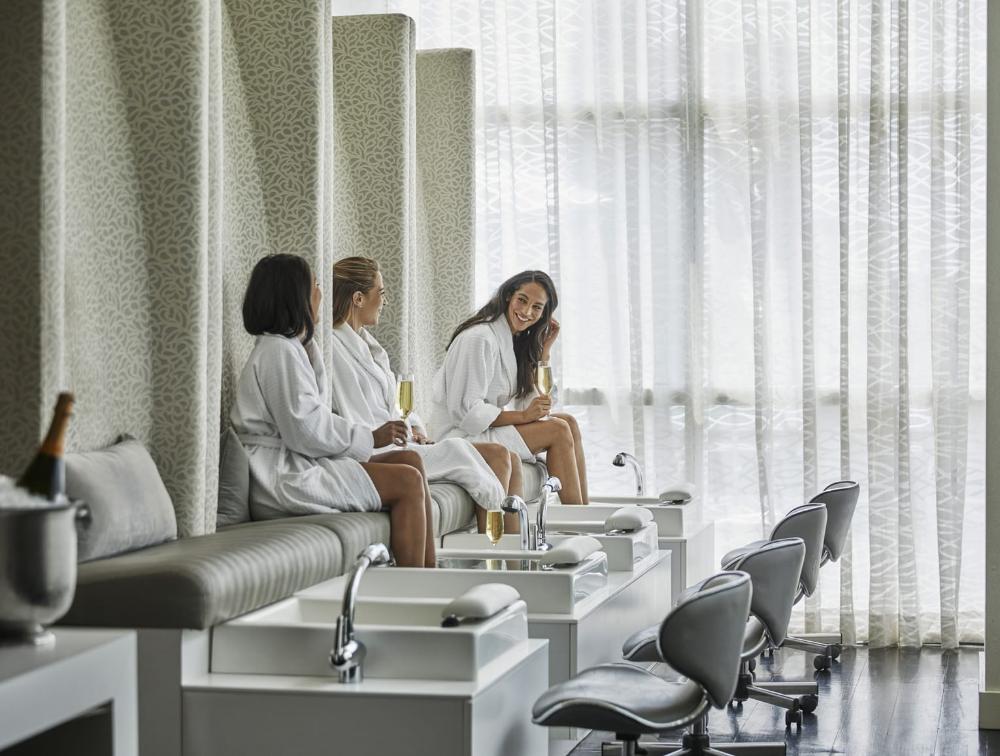 Baltimore Spa Massage Facials Hair Salon Four Seasons Hotel Luxury Nail Salon Salon Interior Design Hair Salon Design