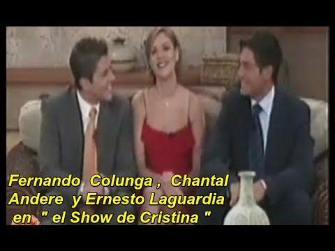 Fernando Colunga Chantal Andere Y Ernesto Laguardia En El