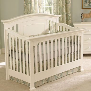 Muniré Furniture Medford 4 IN 1 Convertible Crib - White
