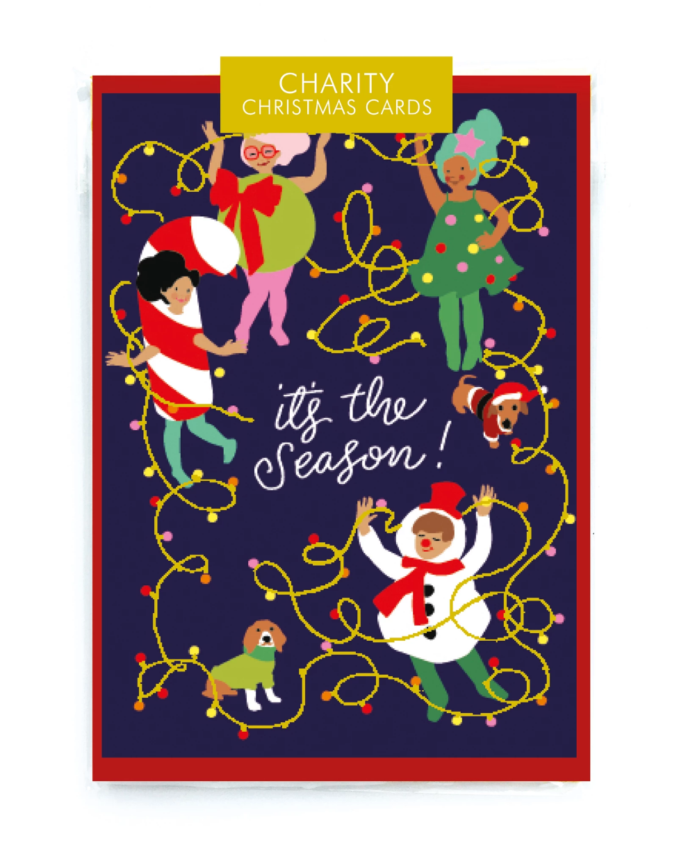 Set of Christmas Cards by Noi Charity christmas cards