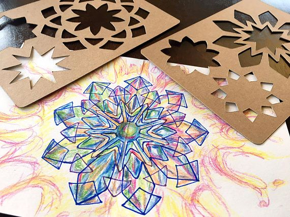 This is a set of nine pointed star stencils can be traced to make this is a set of nine pointed star stencils can be traced to make beautiful do it yourself cards gift tags banners ornaments art pieces labels solutioingenieria Gallery