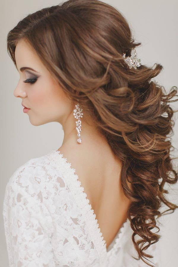 The Most Beautiful Wedding Hairstyles To Inspire You Wedding Hair Tips Front Hair Styles Wedding Hairstyles For Long Hair