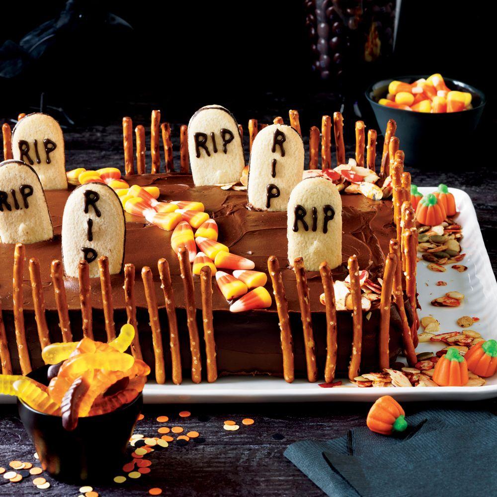 Milano Cookie Graveyard Cake