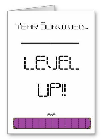 A Quirky Birthday Card For Any Hardened Gamer