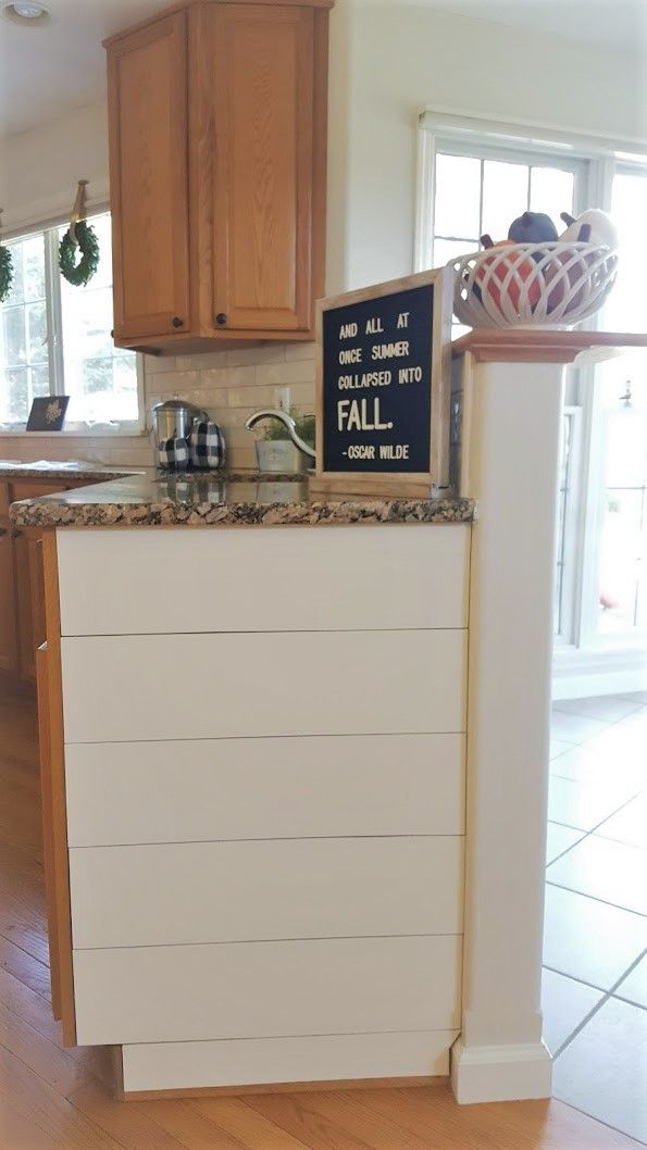 Update a kitchen w/out Painting Oak Cabinets | Updating ...