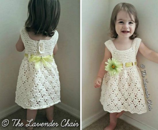 Crochet Vintage Dress Pattern Is Just Adorable | Vintage crochet ...
