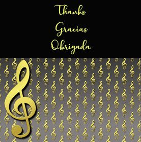 Alphabets by Monica Michielin: GOLDEN TREBLE CLEF AND BLACK ALPHABET, #trebleclef, #clavedesol, #love, #music, #trebleclef
