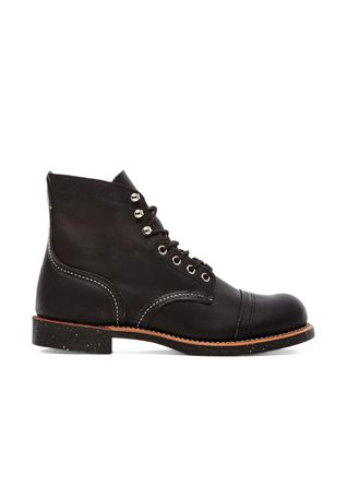 """Red Wing Shoes Iron Ranger 6"""" Iron Ranger in Black Harness 