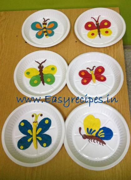 Clay Model Butterfly For Kids Competition My Style Clay Crafts