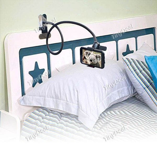 Universal Flexible Long Arms Lazy Bed Desktop Mobile Phone Holder Stand Bracket - Color Assorted MHD-142348