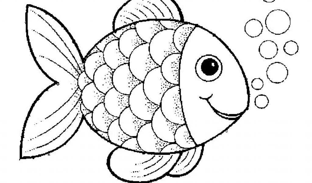 Malvorlage Fisch Einfach - tiffanylovesbooks