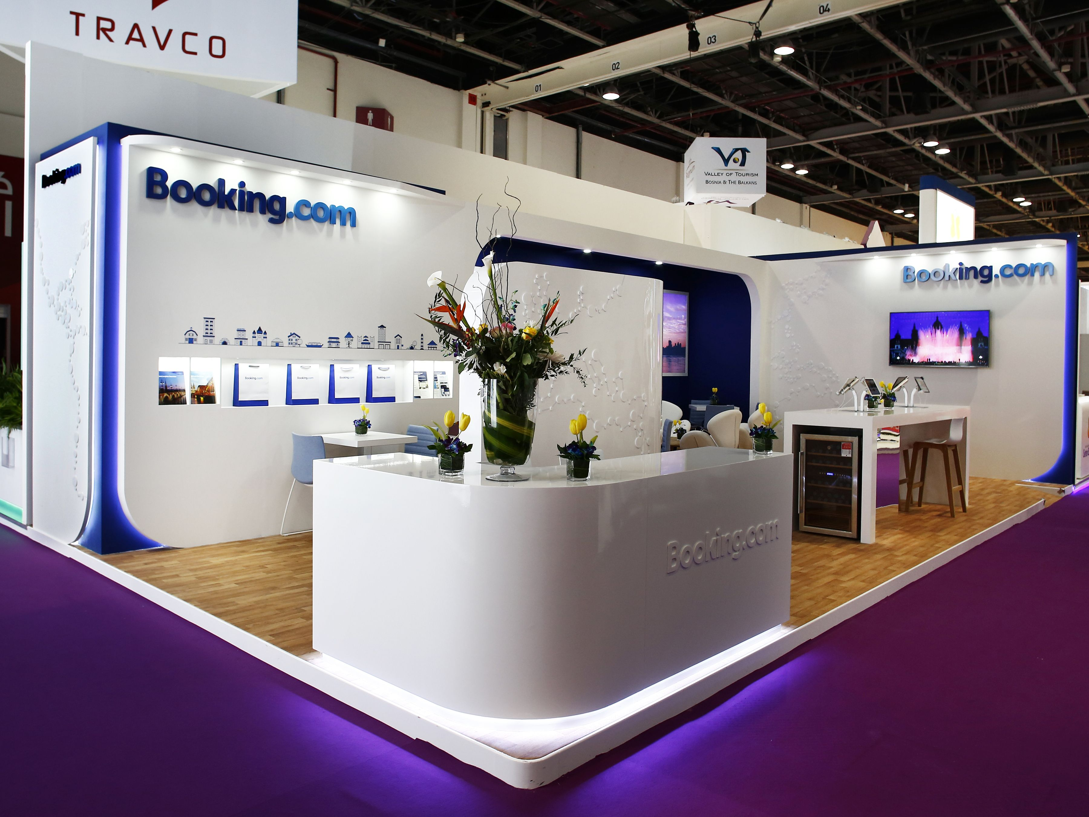 Exhibition Stall Booking : Booking exhibition stand design by elevations uk for